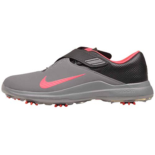 Tiger Golf Shoes - Nike Men's TW'17 Golf Shoes, Cool Grey/Solar Red-Black, 12 M US