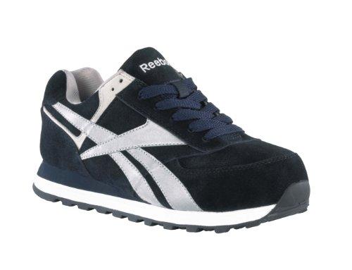 UPC 690774132849, Reebok Men's Work Leelap Steel Toe Sneaker Navy Blue 5.5 W