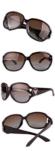 de Gafas de sol Gafas Gafas sol de polarizadas de protecciónn mujeres de conducción Color LYM B sol amp;Gafas moda C amp; Conductor de Gafas de las Retro wPfqWaXI