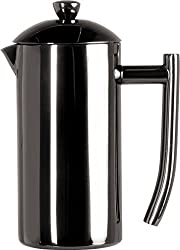 Frieling USA 153 Double Wall Stainless Steel French Press Coffee Maker, 23 Ounce, Black Metallic from Frieling USA
