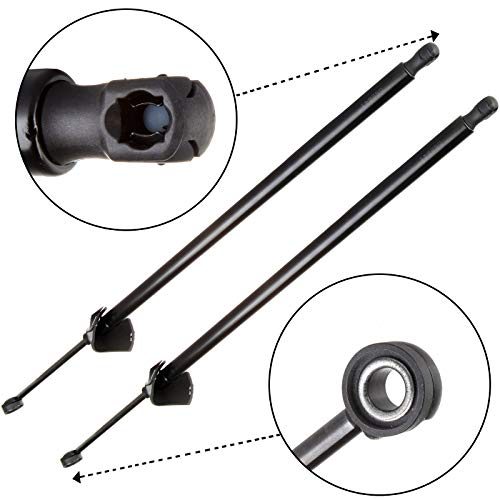 AUTOMUTO 4860 SG130019 SG130014 Lift Supports Gas Struts Shocks Springs Replacement Fit for 1993-2002 Chevrolet Camaro 1993-2002 Pontiac Firebird Rear Hatch