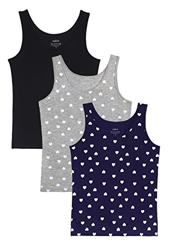 Vislivin Womens Supersoft Camisole Stretch Casual Tank Tops Black/Gray/Dark Blue Love L (Love Womens Top Tank)