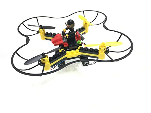 DIY Building Block RC Drone Fly n Drive Combo For Sale
