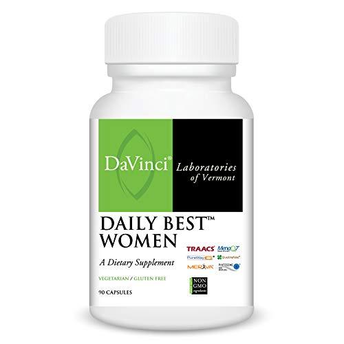 Davinci Laboratories Daily Best Women Multivitamin for Women's Health, 90 Count