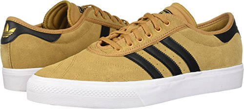 brand new 7a140 15ede adidas Skateboarding Mens Adi-Ease Premiere MesaCore BlackFootwear White  10 D