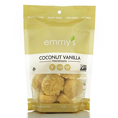 (EMMYS Organic Vanilla Coconut Macaroons, 6 OZ)