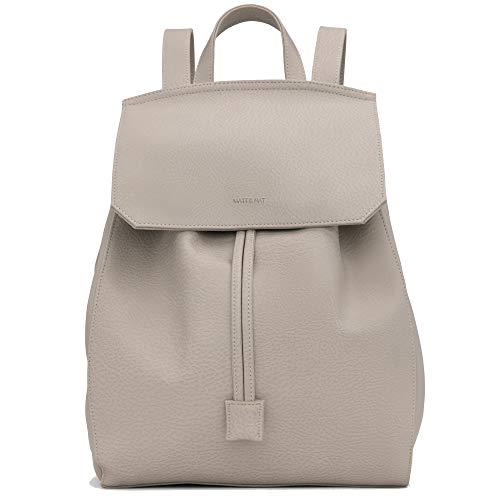 Matt Adjustable Nickel (Matt & Nat Women's Mumbai Dwell Backpack, Koala Matte Nickel, One Size)