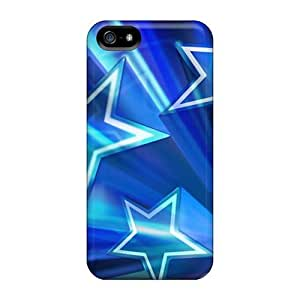 Anti-scratch And Shatterproof Dallas Cowboys Phone Cases For Iphone 5/5s/ High Quality Tpu Cases
