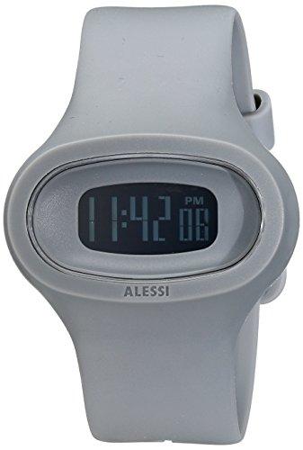 Alessi Men's AL25005 Jak Polyurethane Grey Designed by Karim Rashid (Karim Rashid Watch)