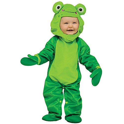 Fun World Costumes Baby's Froggy Infant Costume, Green, (Frog Halloween Costume Infant)