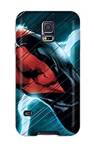New Nightwing Tpu Case Cover, Anti-scratch CAiHmYc3645eafjd Phone Case For Galaxy S5