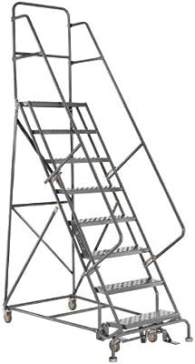 louisville ladder gsw2409 rolling warehouse ladder with 24 inch step 65 Inch TV louisville ladder gsw2409 rolling warehouse ladder with 24 inch step width and handrails 90 inch platform height 9 step stepladders amazon