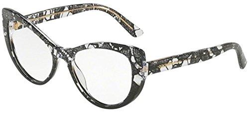 Dolce & Gabbana PRINTED DG 3285 BLACK LACE 54/17/140 women eyewear ()