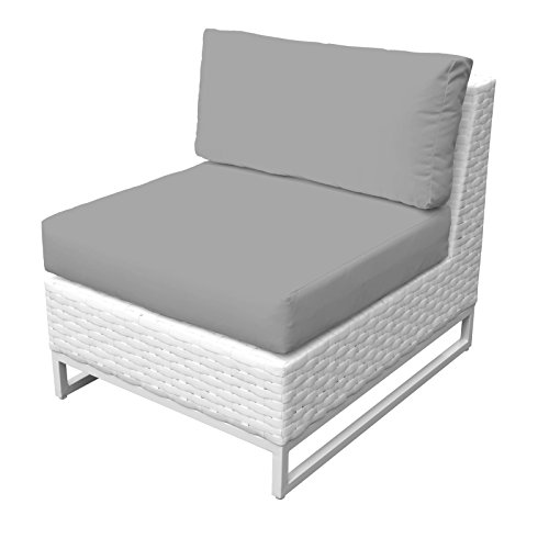 TK Classics TKC047b-AS-GREY Miami Seating Patio Furniture, Grey (Miami Clearance Furniture Patio)