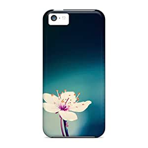 Hot CvYcLgF2378HgAEK Case Cover Protector For Iphone 5c- Peach Blossom