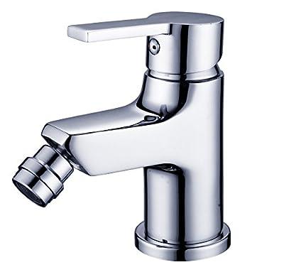 DP Bath Cedro- Single lever bidet mixer tap, silver