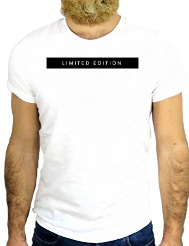 T SHIRT Z0434 LIMITED EDITION COOL NICE HIPSTER VINTAGE NICE SUPER FUN NICE GGG24 BIANCA - WHITE S