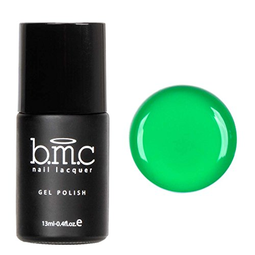 BMC Bright and Loud Green Gel Lacquer Polish - Neon Wastelan