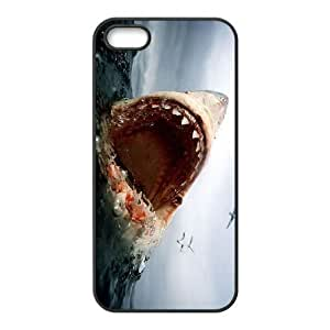 Diy Deep Sea Shark Phone Case for iphone 5s Black Shell Phone JFLIFE(TM) [Pattern-4]