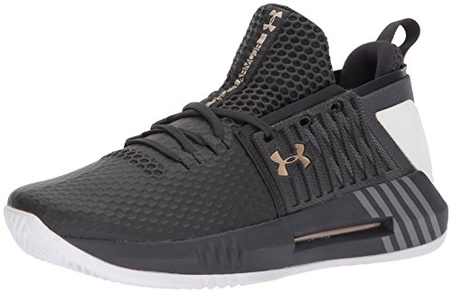 Drive Scarpe Armour Under 4 Anthracite Metallic Uomo Gold Anthracite Basket Low UA da Victory XpxSFwxq