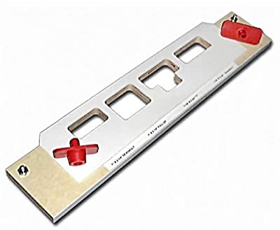 """Templaco MS-400 Multi-Strike Template - 16"""" Carrier w/ 2 Deadbolt, 1 Full Lip and 1 """"T"""" Pocket from Templaco"""