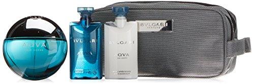 Bvlgari Aqva Homme by Bvlgari Gift Set Spray EDT, Aftershave, Shower Gel