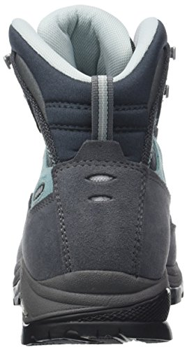 Asolo Femme Gris Gunmetal Finder Grigio A177 Bleu Gv ML de Pool Hautes Randonnée Chaussures SSqr0a