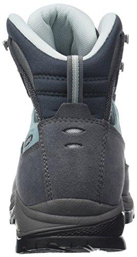 Hiking Finder Side High Gunmetal Asolo ml Gv Pool Shoes Women's Rise Grey 16SaxF