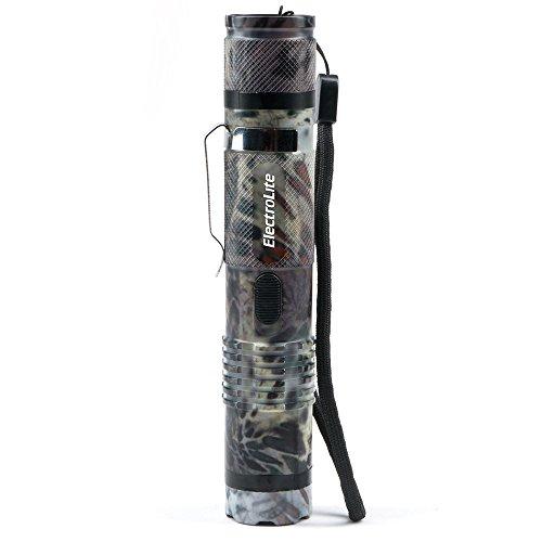 (Guard Dog ElectroLite Prym1 Camo Edition Stun Gun Flashlight with Belt Clip, Maximum Voltage, 140 Lumen Light, High Country)