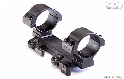LaRue Tactical LT120 Quick Detach Lower Bore Scope Rings Rifle Optic Mount (30 MM Rings)