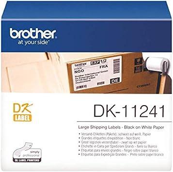 5x kompatible Premium Etiketten Rollen für Brother DK11204 Mehrzweck Label-Easy