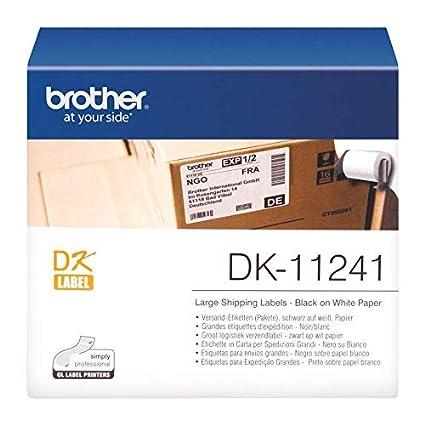 300 DRUCKER ETIKETTEN 62x100mm STANDARD für BROTHER P-touch QL-500BW