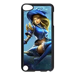 iPod Touch 5 Case Black League of Legends Sorceress Lux PD5310275