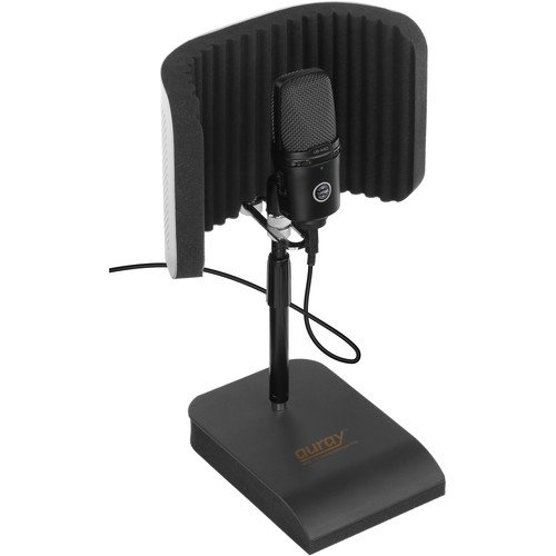 Auray RFDT-128 Desktop Reflection Filter and Mic Stand by AURAY