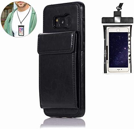 耐汚れ 手帳型 アイフォン iPhone 11 Pro MAx ケース 対応 耐摩擦 レザー スマホケース 本革 手帳型 財布 カバー収納 [無料付防水ポーチケース]
