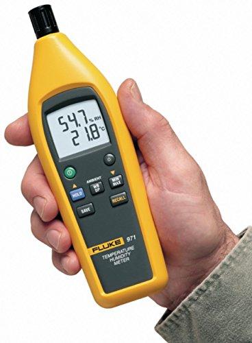 Profi IR-Thermometer + Hygrometer - perfekt für Grow Baustelle Garten etc. -20 bis +60 °C 5% bis 95 %