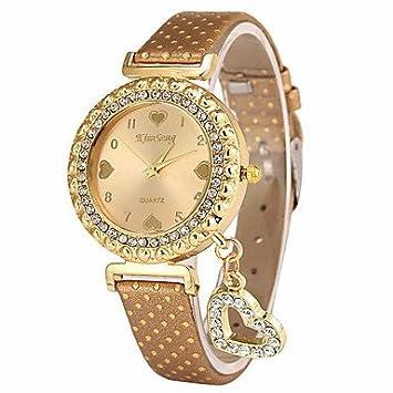 Bellos Relojes, las mujeres del reloj de moda reloj de pulsera única creativo relojes cuarzo