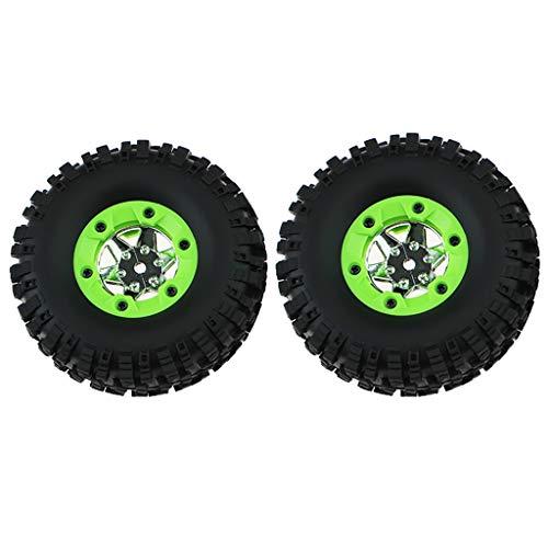 TANGON Rc Track Car Tire Wheels Spare Parts for Wltoys 12428 1/12 Remote Control Car 2PCS - Alum Track