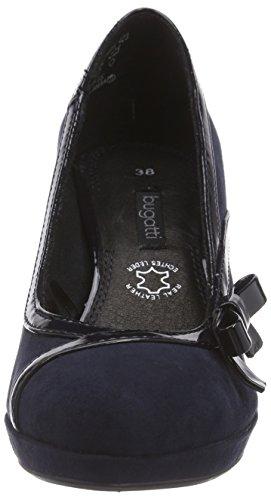 Talons à Plateau Marine Bleu Chaussures 423 avec Bugatti V4965PR6VL Femme vqtqx1