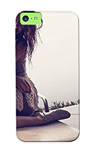 Fireingrass Perfect Tpu Case For Iphone 5c/ Anti-scratch Protector Case (olivia Wilde Celeb Actress Women Females Girls Babes Sexy Sensual Models Style Fashion Brunee Pov )