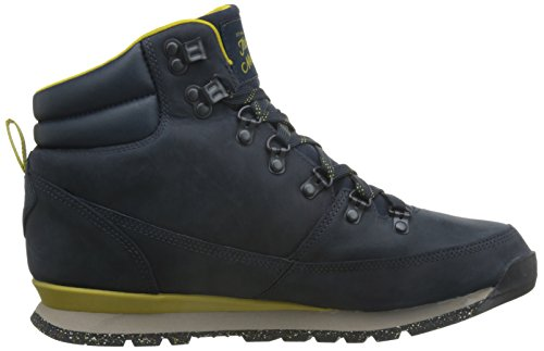 The North Face M Back-to-Berkeley Redux Leather, Men's Walking Shoes Multicolore (Blu/Urbnvy/Antqmsgn)