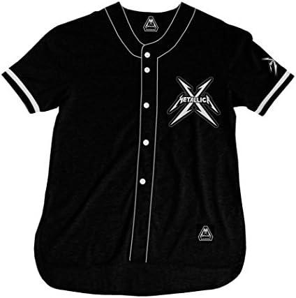 Metallica - Camisa - San Francisco Baseball Jersey: Amazon.es: Ropa y accesorios