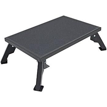Quick Products JQ-S150 Platform Step, X-Large - Steel, Black