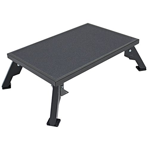 - Quick Products JQ-S150 Platform Step, X-Large - Steel, Black