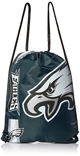 Foco Philadelphia Eagles Big Logo Drawstring Backpack