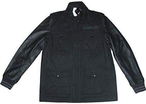 Nike 65 Sportswear NSW Mens Leather Wool Destroyer Jacket Coat $600 - Nike Leather Jacket