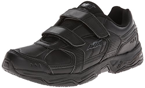 AVIA Womens Avi-Union Strap Service Shoe Black/Iron Grey