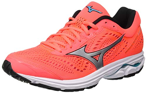 Basse Ginnastica 001 Blue Scarpe Multicolore Mizuno 22 Silv W da Rider Fierycoral Wave Donna nx0wA16aS