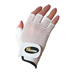 Advantage Pickleball Unisex Glove Half Finger Right Hand L