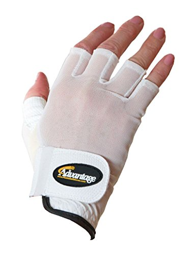 Advantage Pickleball Unisex Glove Half Finger Right Hand L